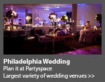 Philadelphia wedding venues Party space