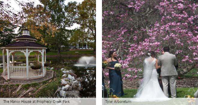 Partyspace Philadelphia wedding venue The Manor House at Prophecy Creek Park and Tyler Arboretum