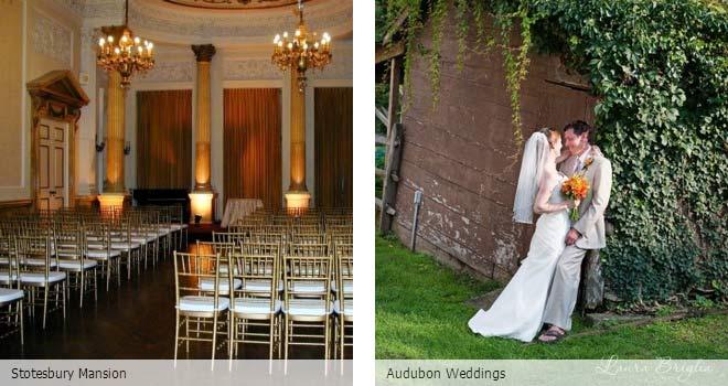 Partyspace Philadelphia wedding venue Stotesbury Mansion and Audubon Weddings