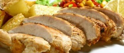 kosher plated dinner package duck menu catering