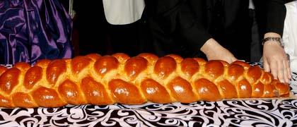 Kosher plated dinner package chalah menu catering