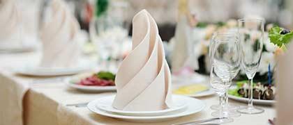 wedding celebration sample menu kosher catering
